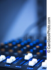 Sound recording audio studio