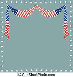 American flag background for Independence Day and other...