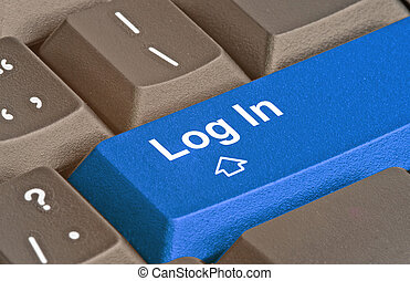 Hot key for log in