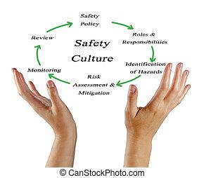 diagrama, cultura, segurança