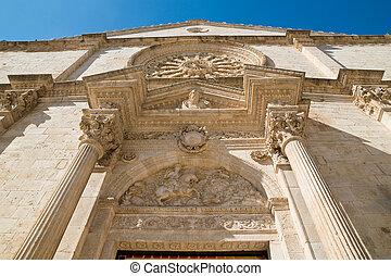 Cathedral of Acquaviva delle fonti Puglia Italy