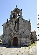 Romanesque church in Hio, a village of the province of...