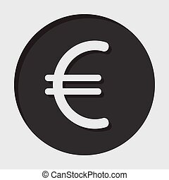information icon - euro currency symbol - information icon -...