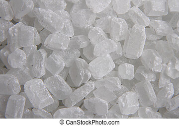 white sugar crystal texture as nice food background
