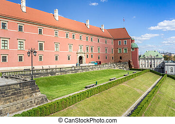 Royal Castle in Old Town, Warsaw - Part of Royal Castle in...