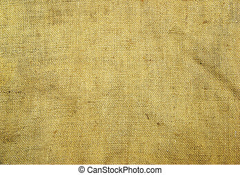 sack - Background old  sack by a large plan