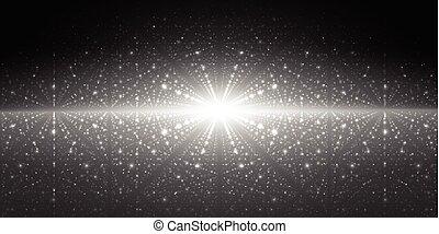 Vector interstellar space background.Cosmic galaxy...
