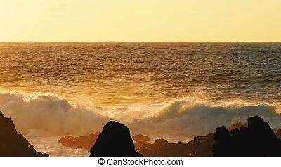 Waves Atlantic Ocean Breaking