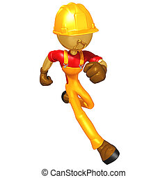 Construction Worker - A Concept And Presentation...