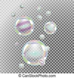 Soap bubbles set