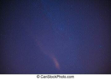 Background with the night sky and stars - Background with...