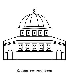 Dome of the Rock on the Temple Mount icon