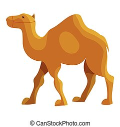 Camel icon, cartoon style - Camel icon in cartoon style...