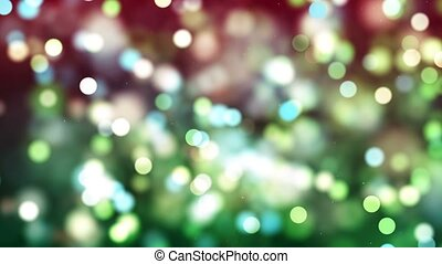 HD Loopable Background with nice green bokeh