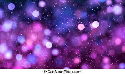 HD Loopable Background with nice purple bokeh