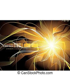 Energy Sparks - Technology background of energy sparks...
