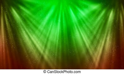 HD Loopable Background with nice green rays