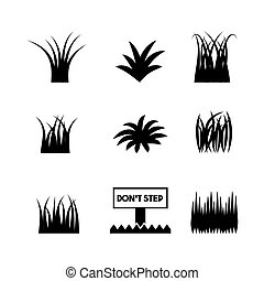 nature grass field background vector illustration design