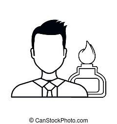 avatar man laboratory doctor - avatar man doctor with...