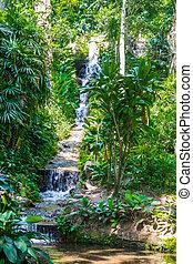 Waterfountain - Botanic Garden Rio de Janeiro, Brazil