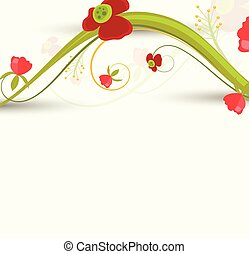 Flourish Branch Abstract Background