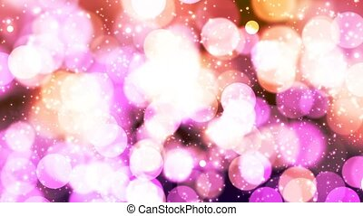 HD Loopable Background with nice pink bokeh