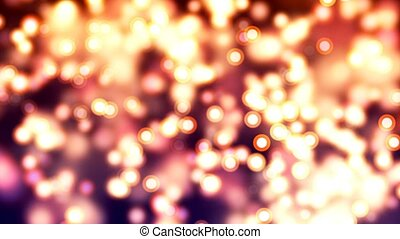 HD Loopable Background with nice abstract fireflies - HD...