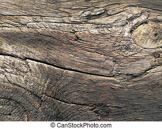 Old brown wood board surface texture photo - Old brown wood...