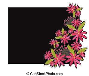 Elegant Flowers Vector Banner