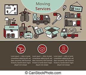 Delivery services, warehouse logistic, moving home