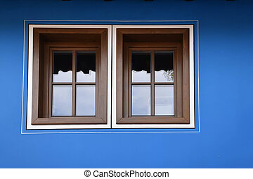 Window of a traditional building