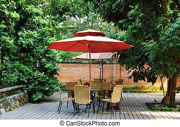 Summer patio