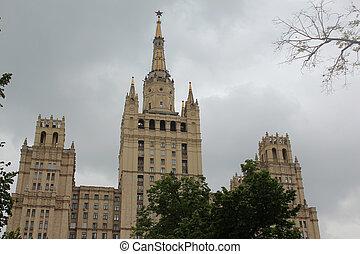 Upper floors of skyscraper - Upper floors of residential the...