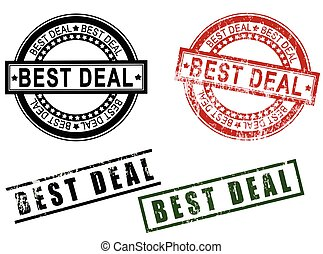 Best Deal Rubber Stamps Set