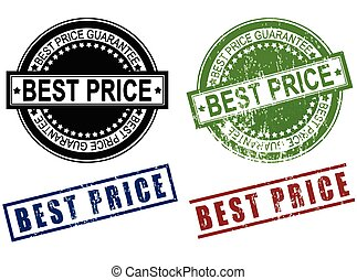 Best Price grunge sign rubber stamp
