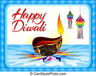 abstract diwali background - abstract artistic diwali...