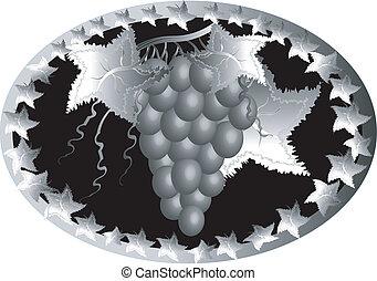 ícone, uva