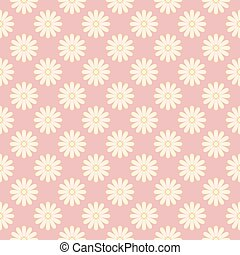 Antique floral fabric with flowers pattern
