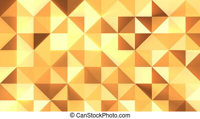 Abstract Mosaic background. Seamless loop