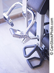 Gym exercise weights machine - Gym exercise weight training...