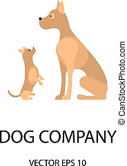 Logo with a dogs
