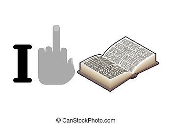 voyous,  antisocial,  fuck, Livre, lire,  logo, Haine