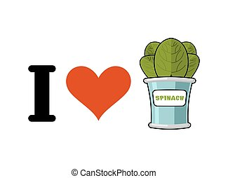 I love spinach. Heart and green leaf lettuce. Tinned greens...