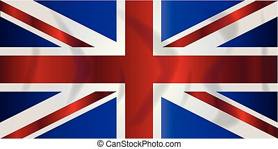 Union Jack Flag - Typical Union Jack flag of the United...
