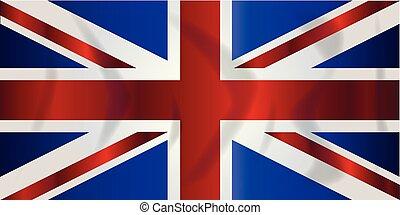 Union Jack Flag - Typical Union Jack flag of the United...