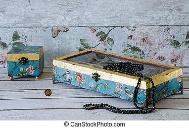 Beautiful Jewllery Boxes - Beautiful hand made jewelley...