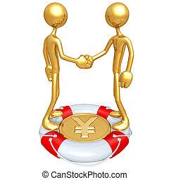 Lifebuoy Money Handshake