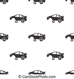tire car jack icon on white background for web
