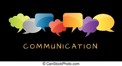 Thought bubble and communication