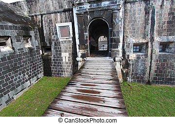 Brimstone Hill Fortress - St Kitts - Entrance to the Citadel...